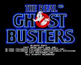 The Real Ghostbusters Amiga Title