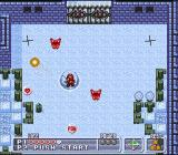 Firestriker SNES The black crosses are monster dens. They have to be  destroyed before the level can be finished.