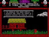 Treasure Island Dizzy ZX Spectrum There are many funny signs throughout the game