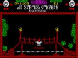 Treasure Island Dizzy ZX Spectrum The bridge can be broken using the right tool