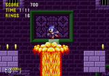 Sonic the Hedgehog Genesis Over hot lava