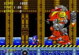 Sonic the Hedgehog 2 Genesis The final fight with Dr.Robotnik