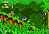 Sonic the Hedgehog 3 Genesis Speeding up in the jungle