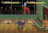 Streets of Rage 3 Genesis Skate and Zan are ready