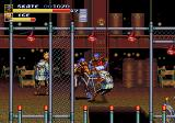 Streets of Rage 3 Genesis Skate's awesome jump on shoulders move