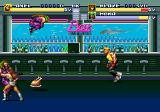 Streets of Rage 3 Genesis Ninjas are flying in form everywhere!