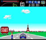 Victory Run TurboGrafx-16 Start out in Paris.