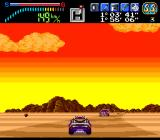 Victory Run TurboGrafx-16 Into the desert