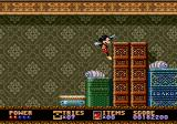 Castle of Illusion starring Mickey Mouse Genesis Jumping over bugs