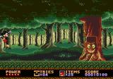 Castle of Illusion starring Mickey Mouse Genesis One of the bosses - a tree!