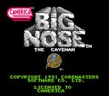 Big Nose the Caveman NES Title screen