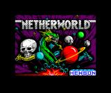 Netherworld ZX Spectrum The detailed loading screen