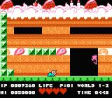 Bio Miracle Bokutte Upa NES In this level, the baby has to eat the cake in order to advance
