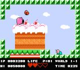Bio Miracle Bokutte Upa NES Boss battle