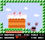 Bio Miracle Bokutte Upa NES Level is completed
