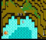 The Blue Marlin NES Mountain scenery