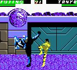 Mortal Kombat 4 Game Boy Color Now, the kombatants used simultaneous kicks, but only one of this will be accurate...