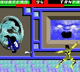 Mortal Kombat 4 Game Boy Color Sub-Zero have chosen a bad hour to jump: he will be a surprise when landing...