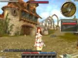Guild Wars Windows An elementalist in beautiful Ascalon City.