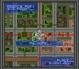 "Shin Megami Tensei SEGA CD The world map is a bit weird: you ""scan"" it instead of moving a cursor around"