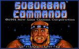 Suburban Commando DOS The title screen.