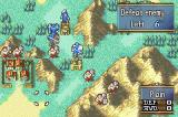 Fire Emblem: The Sacred Stones Game Boy Advance A small battle