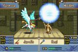 Fire Emblem: The Sacred Stones Game Boy Advance A Priest healing a Pegasus Knight