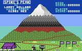 Spike's Peak Commodore 64 Heading off to the first segment of the climb...