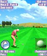 Tiger Woods PGA Tour 2004 N-Gage Getting ready for the swing