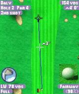 Tiger Woods PGA Tour 2004 N-Gage Overhead view