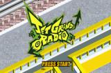 Jet Grind Radio Game Boy Advance Title screen.