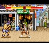 Street Fighter II Turbo SNES In this version, Chun-Li has a fireball: it's very similar of Dhalsim's; the only difference is the color.