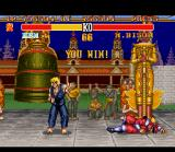 Street Fighter II Turbo SNES M. Bison was defeated! But for only 1 round...