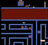 Thexder NES Numerous enemies wander about these corridors