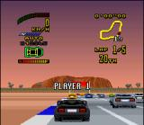 Top Gear 2 SNES Other challenging race is close to start!