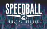 Speedball 2: Brutal Deluxe DOS Title screen