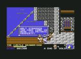 Spike in Transilvania Commodore 64 The guard stops you getting into the castle