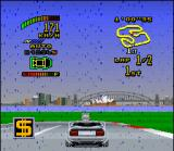 "Top Gear 2 SNES Want a easy money? Then collect an certain square with a yellow ""$"" in the center!"