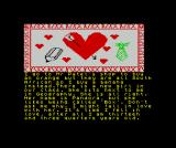 The Secret Diary of Adrian Mole Aged 13¾ ZX Spectrum The heart obviously refers to Pandora, not the oranges