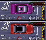 Top Gear SNES If the fuel is low, do a pit stop and minimize the problem!