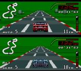 Top Gear SNES Of an extensive declivity, you can see its adversary very far...