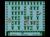 "Jim Henson's Muppet Adventure No. 1: ""Chaos at the Carnival"" NES Amazing Maze: Walk around obstacles (and collect extras)."