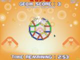 GEOM Windows Arcade Level 2 - scoring a triangle (the only ones scorable by the way)