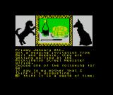 The Growing Pains of Adrian Mole ZX Spectrum Bert Baxter's the grumpy Communist pensioner from the first book/game