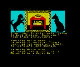 The Growing Pains of Adrian Mole ZX Spectrum A couple of particularly good period jokes there