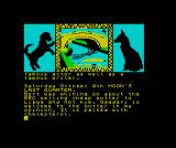 The Growing Pains of Adrian Mole ZX Spectrum Adrian clearly lacks canal knowledge