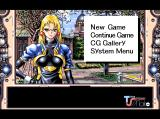 Time Stripper Windows Main menu -- and our first glimpse of the game's antagonist