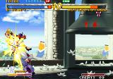 Garou: Mark of the Wolves Neo Geo Pigeons flying around add to the atmosphere