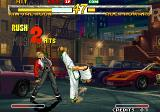 Garou: Mark of the Wolves Neo Geo Kim and Rock battling it out