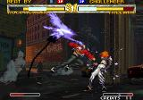 Garou: Mark of the Wolves Neo Geo Rock hits Freeman with a rage run